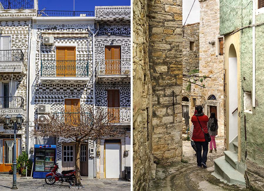 Chios Village Alley - Visiting Chios