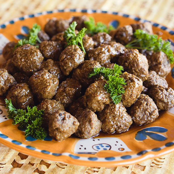 Couscous Spice Blend Mini Lamb Meatballs
