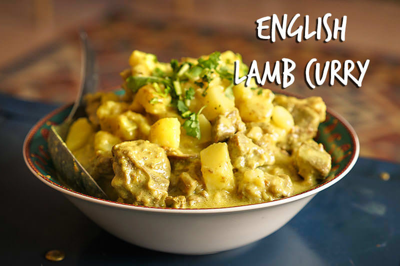 English Lamb Curry