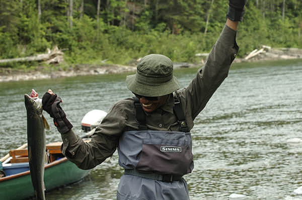 Salmon Fishing in Gaspésie - Gaspé Spices – Pourquoi pas?