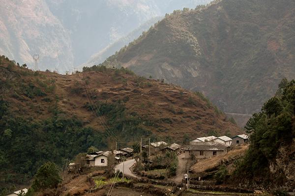Montagnes Sechuan