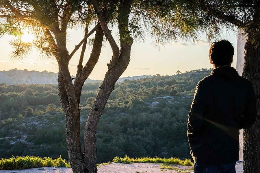 Steve Chios Sunset - Visinting Chios