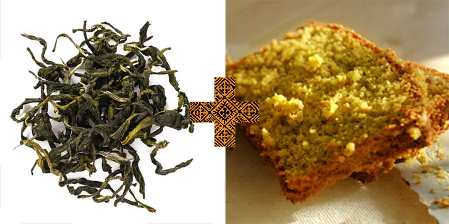 Taiwanese Green Tea And Lemon Cake
