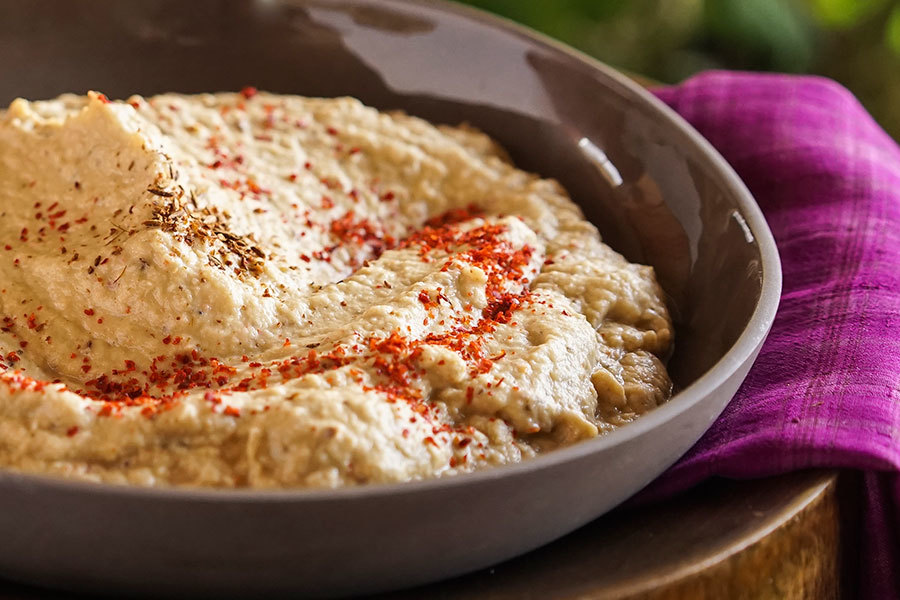 Baba Ganoush With Aleppo Pepper