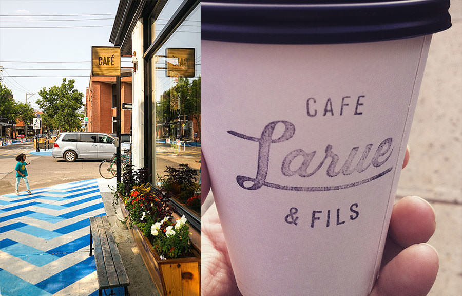 Cafe Larue - 5 Places to Eat less than 5 Minutes from the Jean-Talon Market