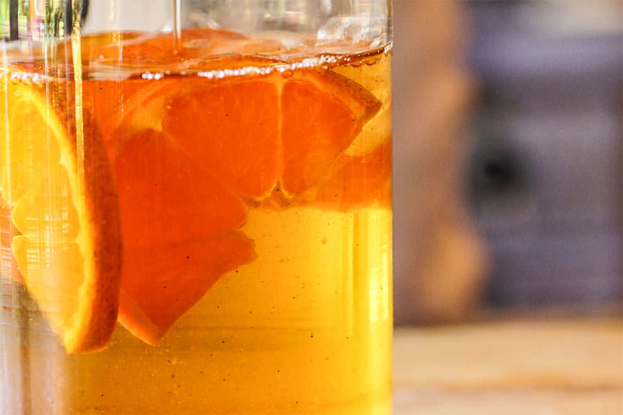 7 Spice Chai Orange Iced Tea