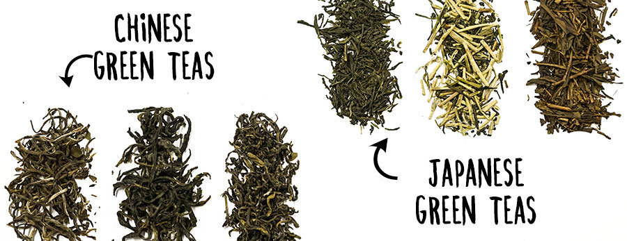Chinese Green Teas Vs Japanese Green Teas