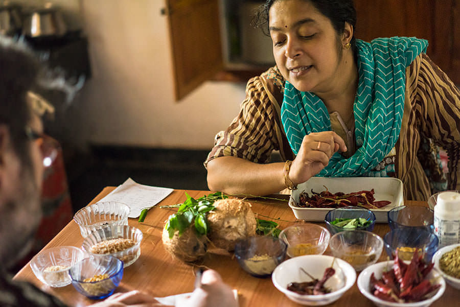 Cooking in Kerala - Tastes and Flavours: Southern India