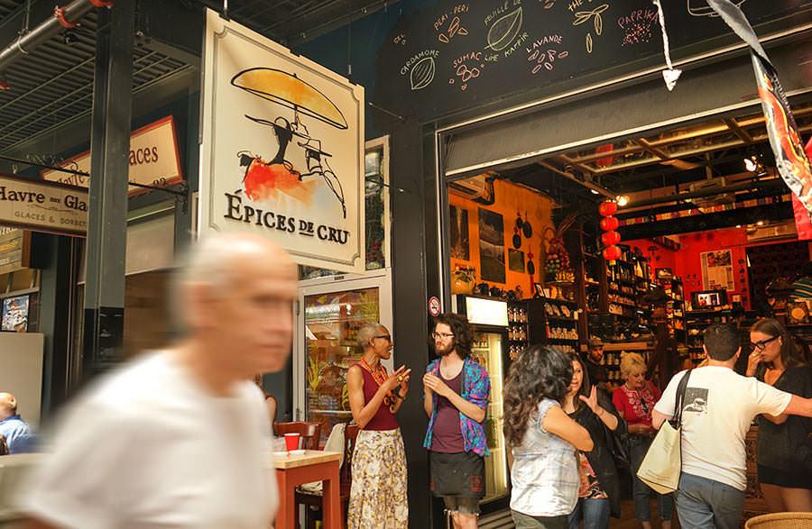 Where to eat - Jean-Talon market