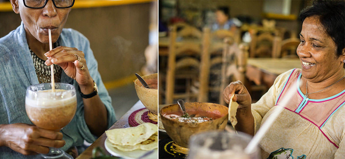 Ethne And Deepa Eating In Mexico - Wandering the Markets of Oaxaca with Friends