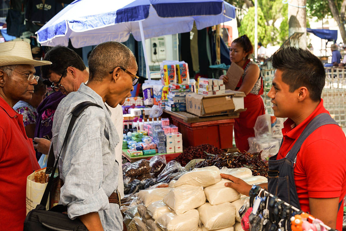 Ethne And Sanath Market - Wandering the Markets of Oaxaca with Friends