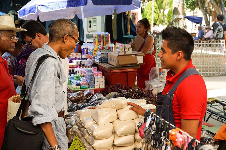 Oaxaca Market - Tastes and Flavours: Oaxaca