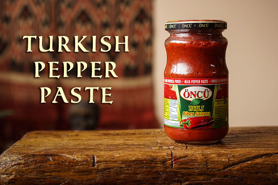 Turkish Pepper Paste
