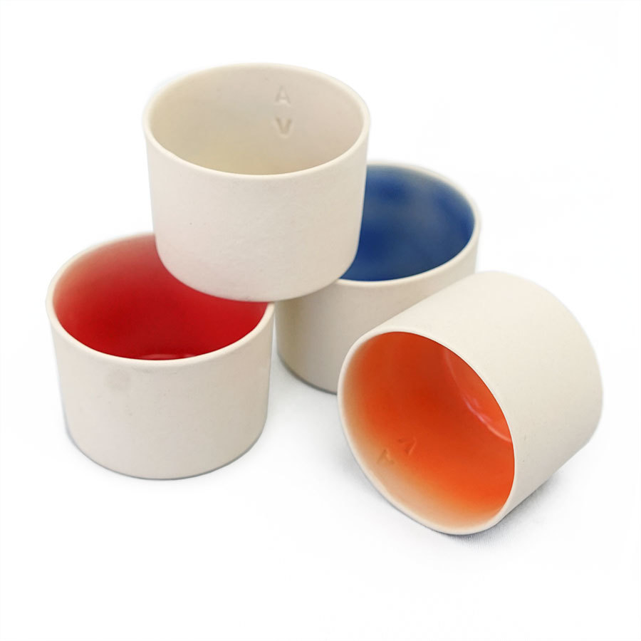 4 tea cup collection