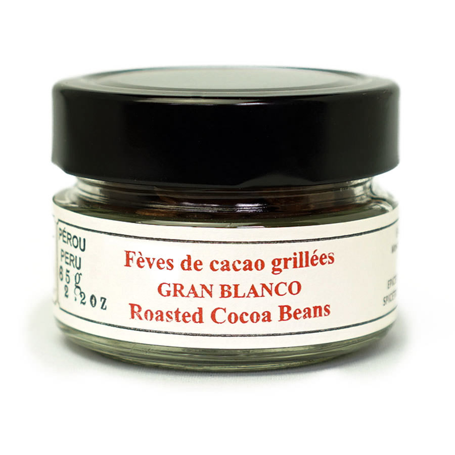 Cocoa beans (roasted) - Gran Blanco Jar