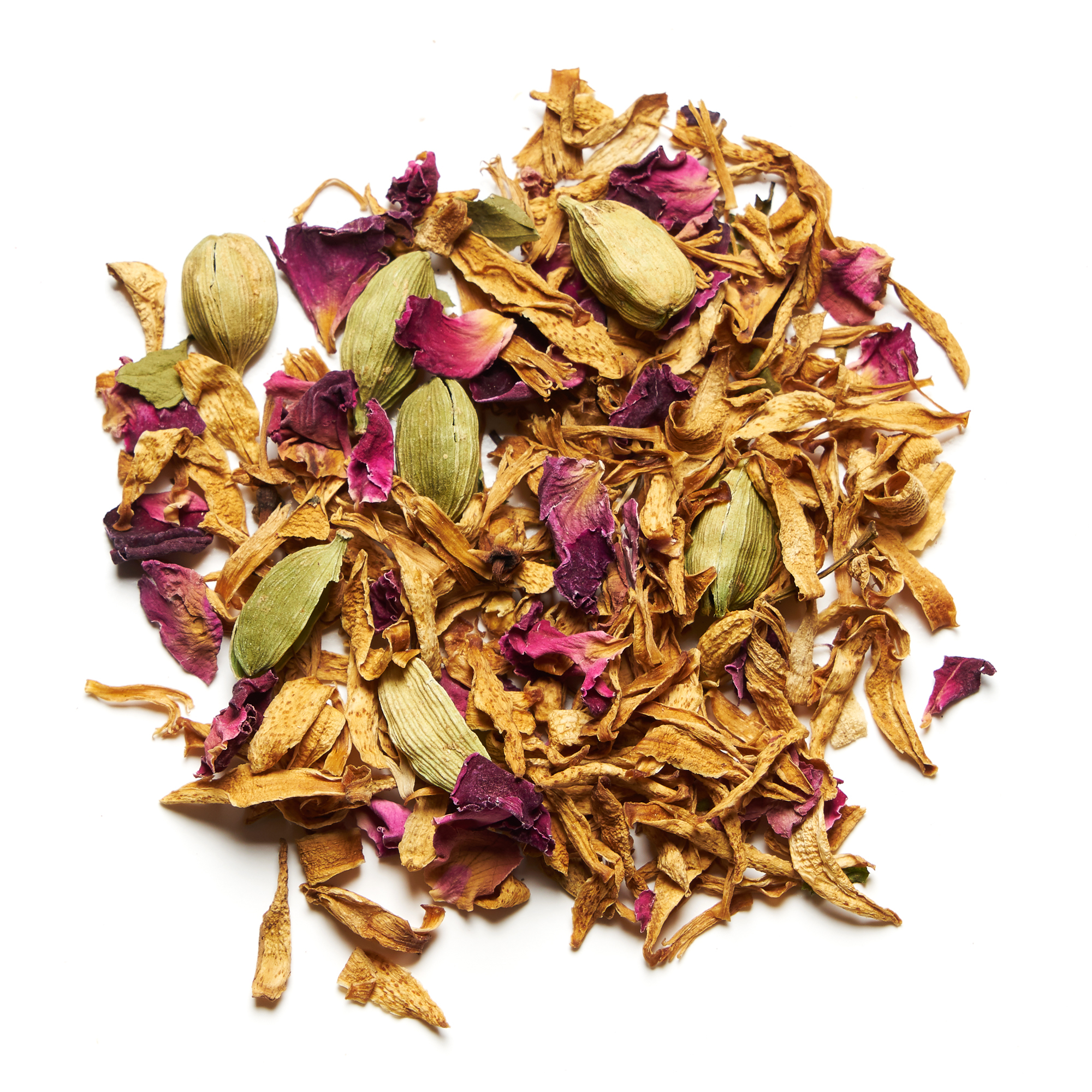 Orange Blossom and Cardamom Herbal Tea