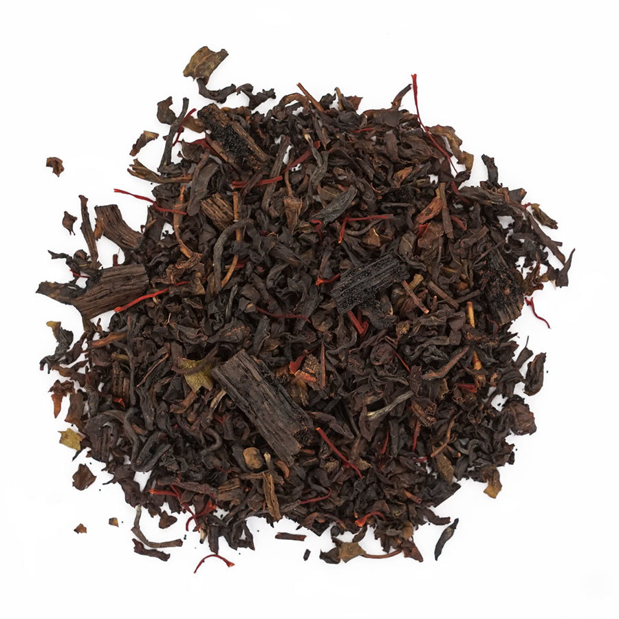 Saffron Vanilla Black Tea