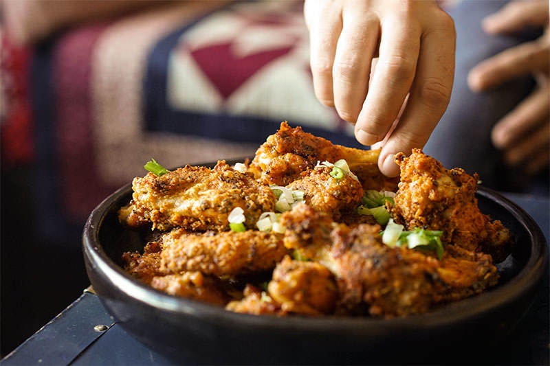 Crispy Five Spice Chicken Wings