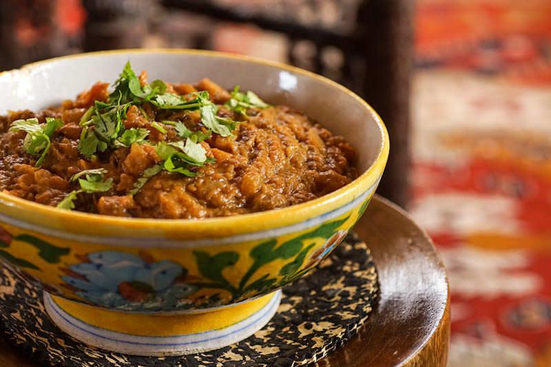 Baingan Bharta - Indian Style Mashed Eggplants