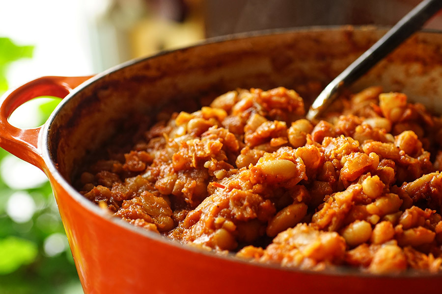 Baked Beans With Tomato And Smoked Paprika