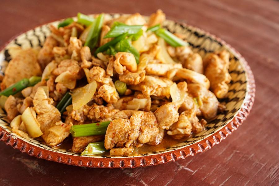 Berbere Sauteed Chicken