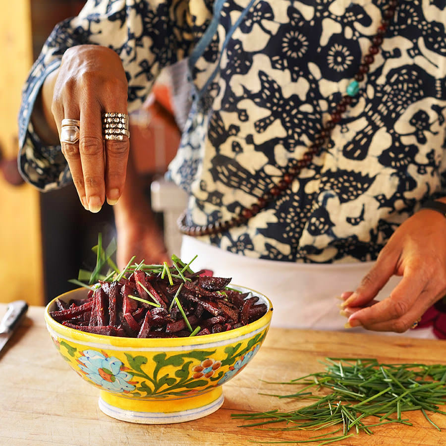 Shafi's Steamed Beets