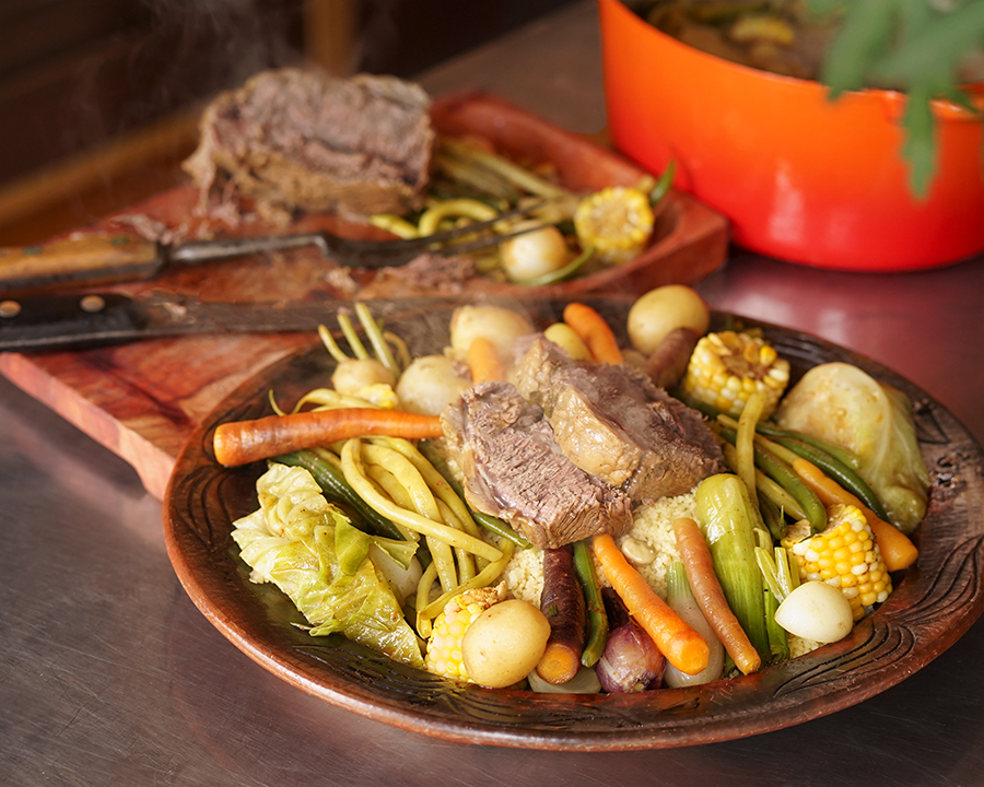 Couscous style Boiled Dinner