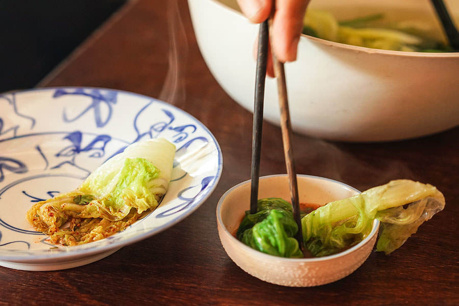 Yunnanese Vegetable Broth and Spice Dip