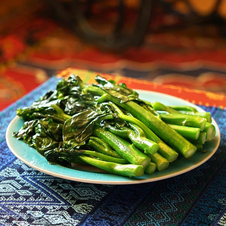 Stri-fried Chinese broccoli