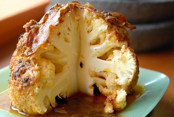 Nadia's Berberé Cauliflower