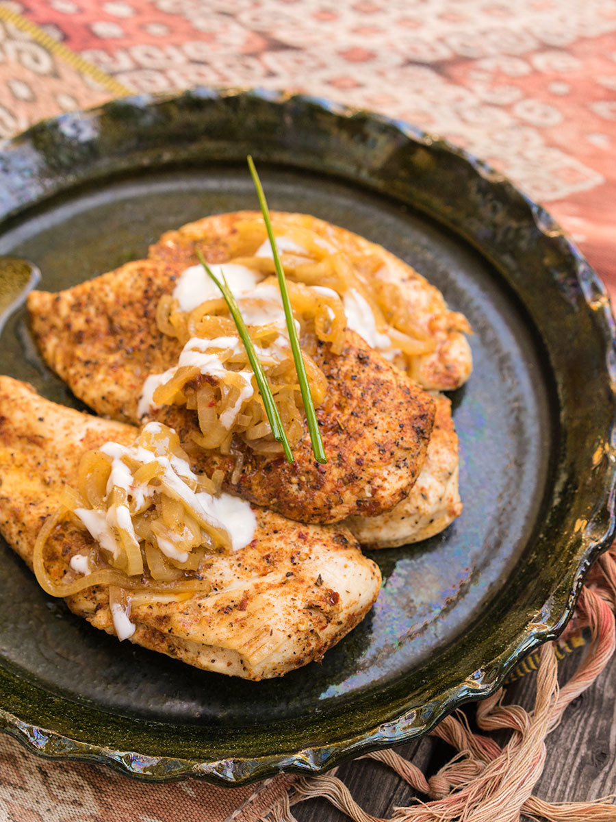 Cajun Chicken Escalope
