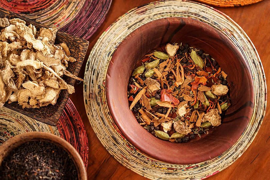 Coconut Milk Masala Chai