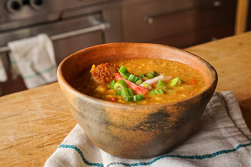 Creole Corn Chowder