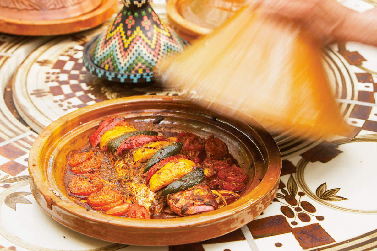 Chermoulah Fish Tajine