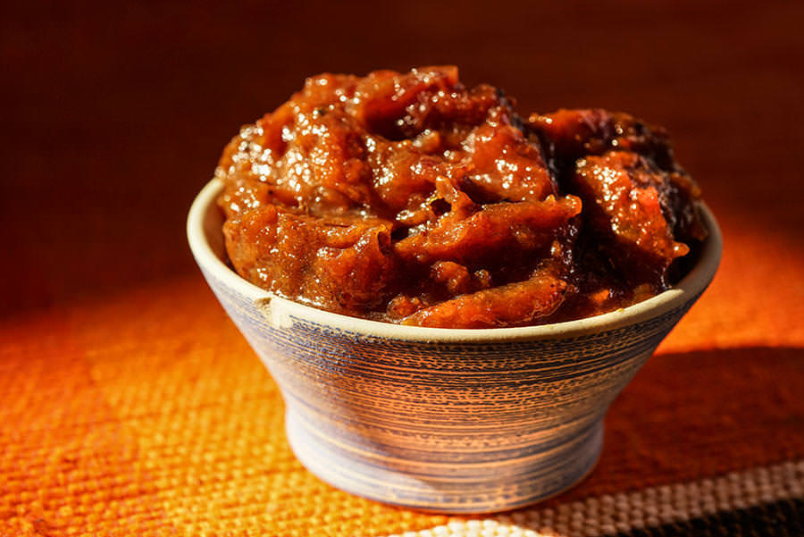 Tomato Chutney with Panch Phoran