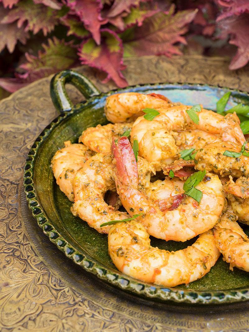 Chermoulah-Sautéed Shrimp