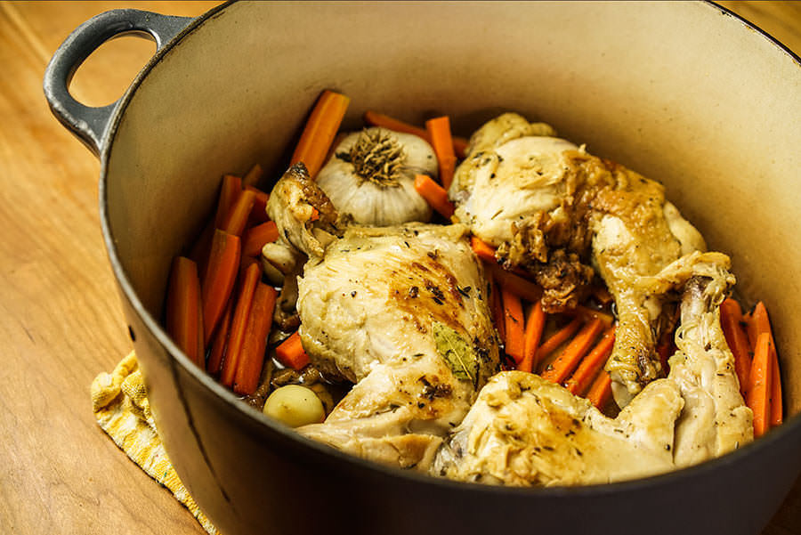 Chicken Legs with Carrots