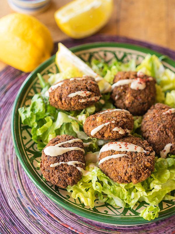Curry Falafel