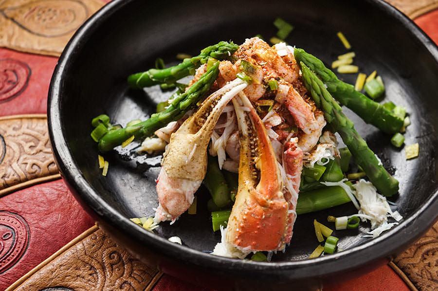 East Coast Crab And Asparagus Salad