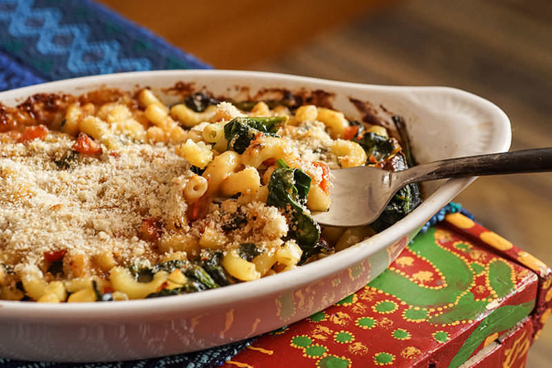 Easy Mac And Cheese And Pasilla De Oaxaca
