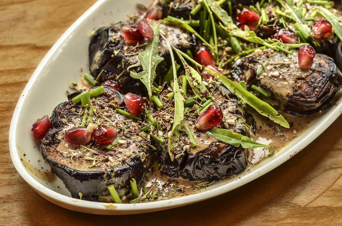Eggplant & Zaatar Salad