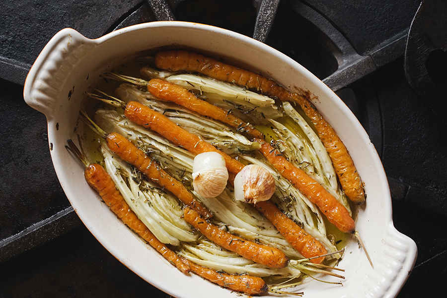 Fennel And Baby Carrot Tian