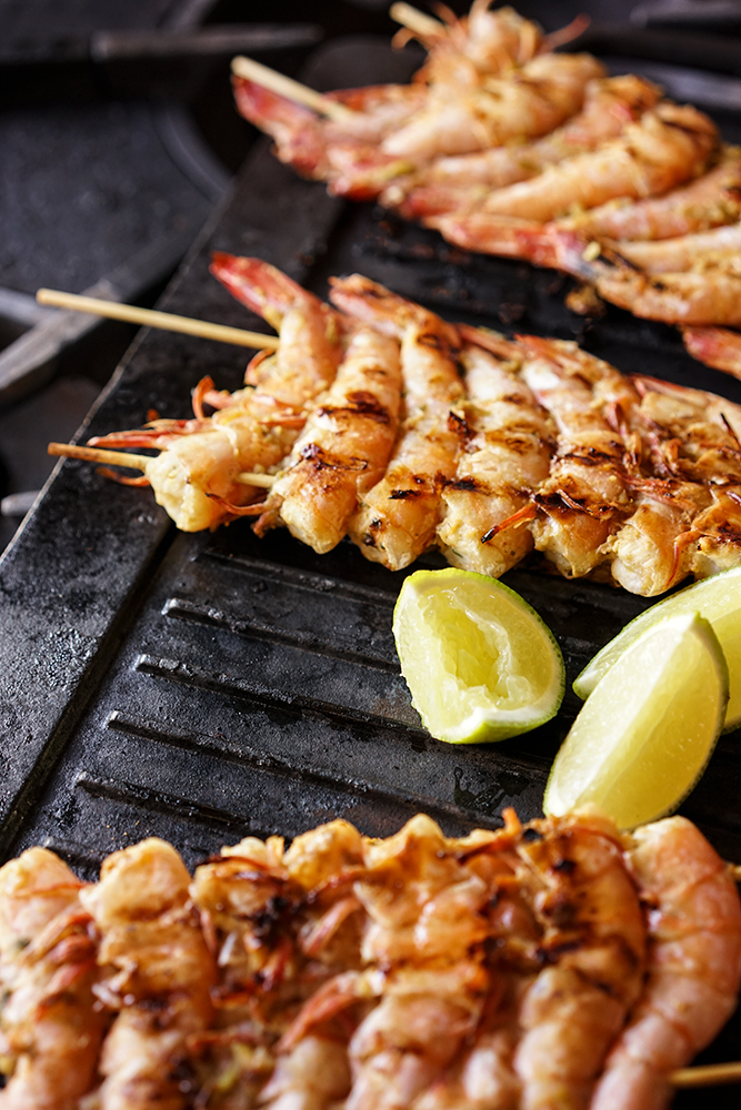 Grilled Thai Shrimps