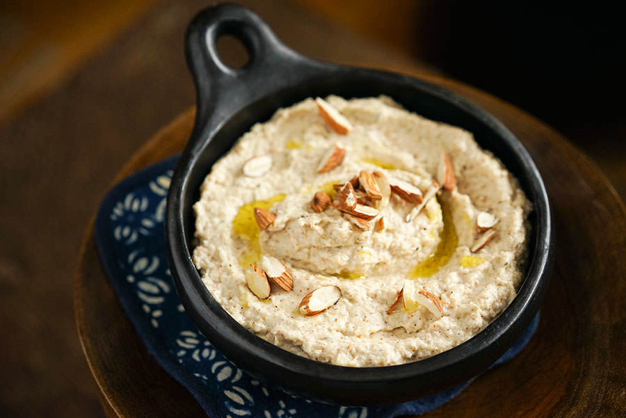 Almond and Parsnip Hummus