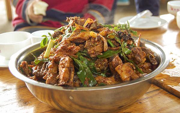 Huo Jiao Ji - Sichuan Peppercorns Chicken