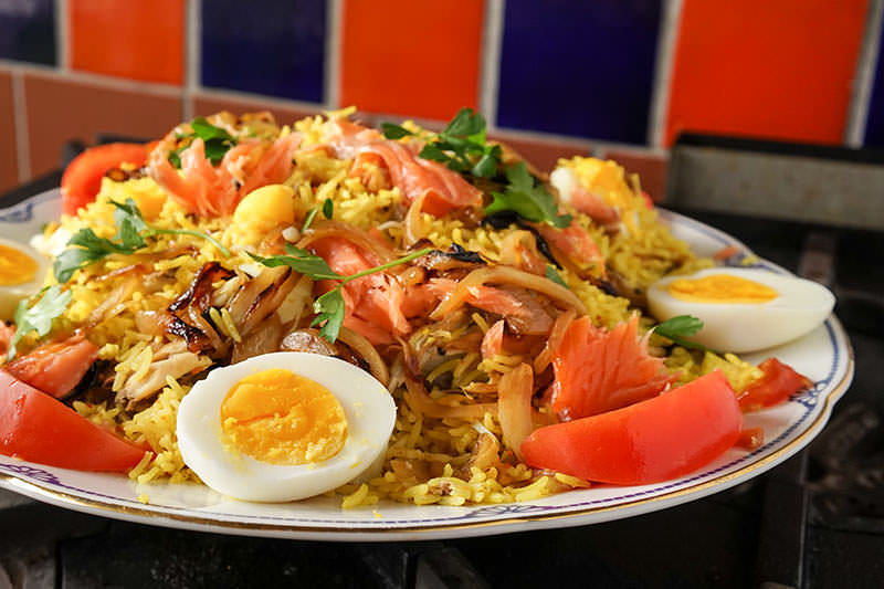 Kedgeree – Indian Rice with Smoked Fish