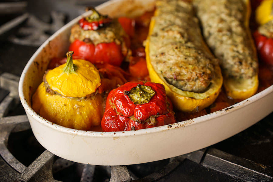 Little Italy Stuffed Vegetables