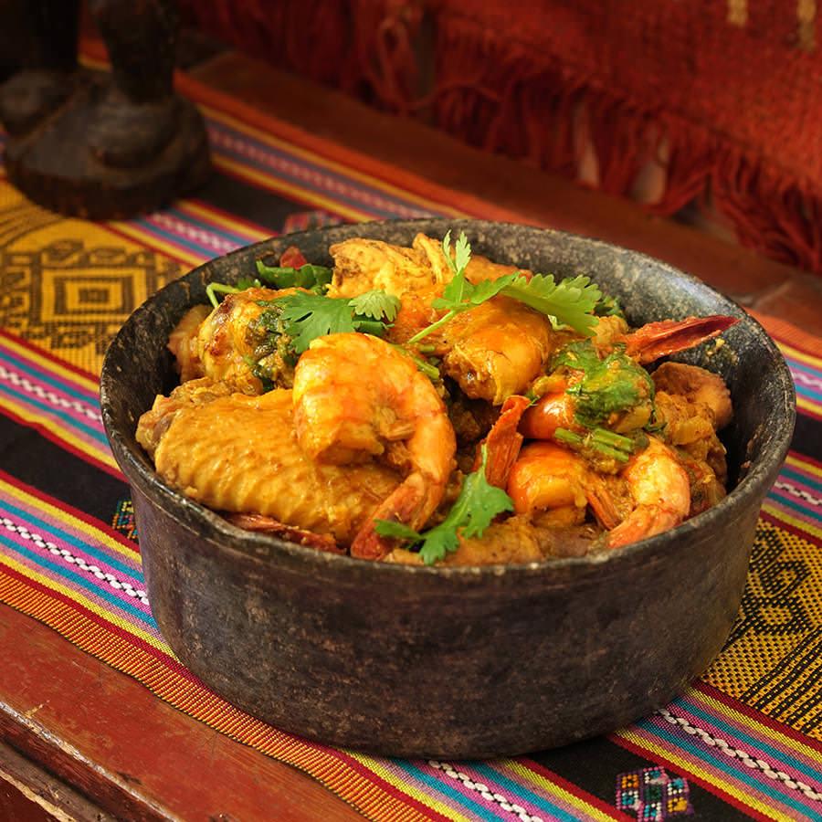 Shrimp and Chicken Masalé