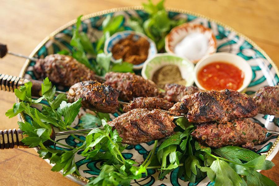 Moroccan Kefta Kebab