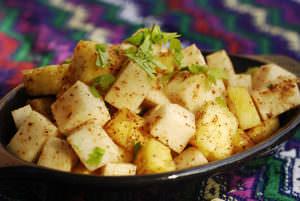 Pineapple and Jicama Salad